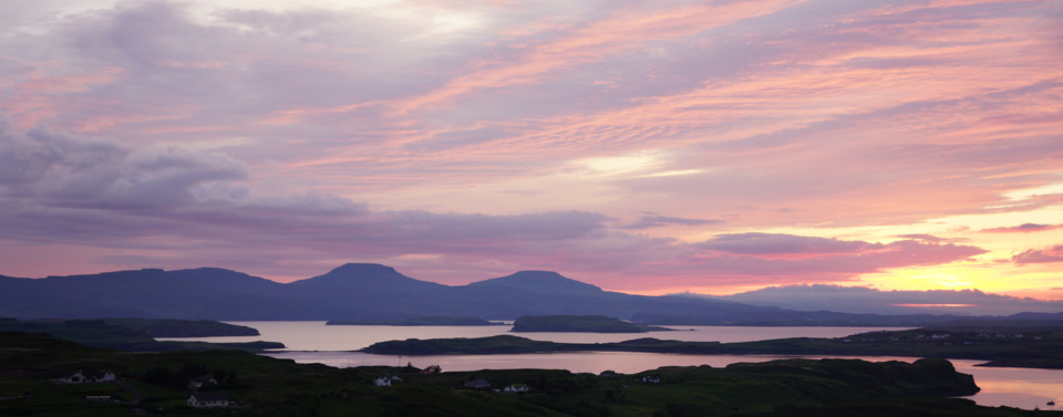 Holiday home rental on the Isle of Skye